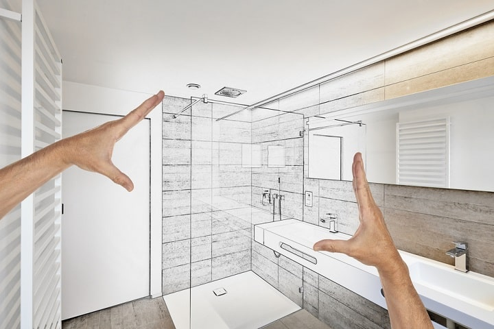 how to build a shower