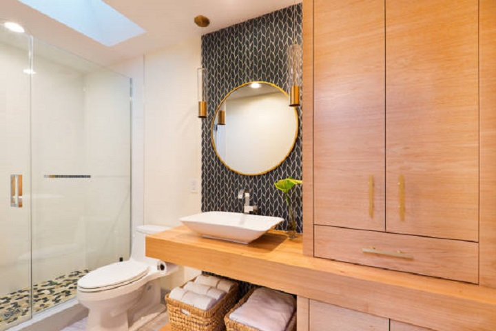 over the toilet decorating ideas