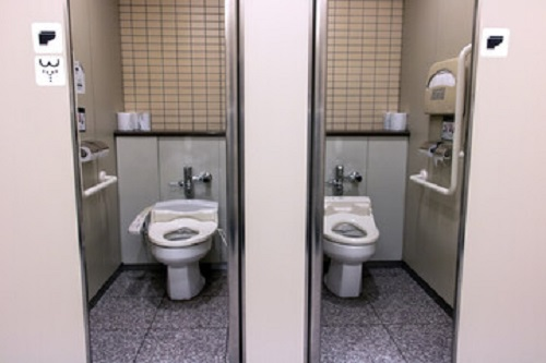 replace round toilet with elongated