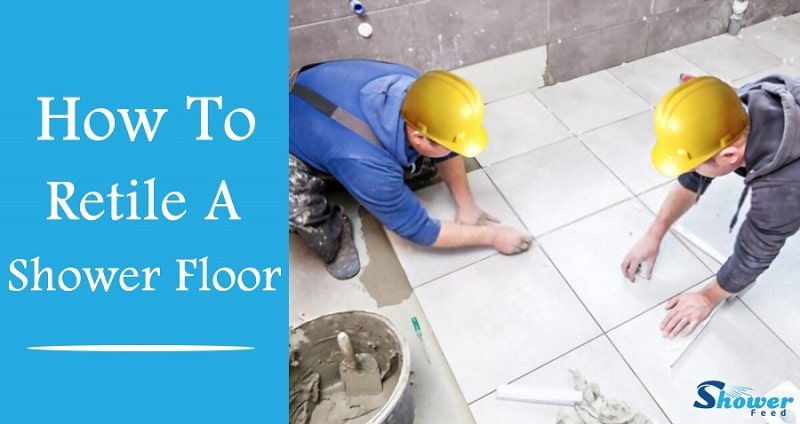 how to tile a shower floor